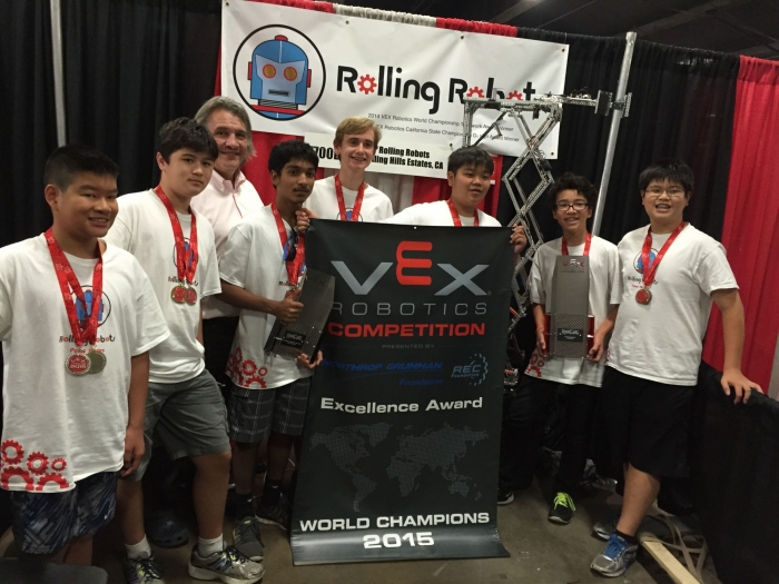 ExcellenceAward at VEXWorld2015